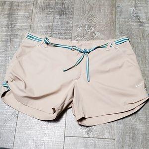 Tan Beige Nike Khaki Casual Active Shorts